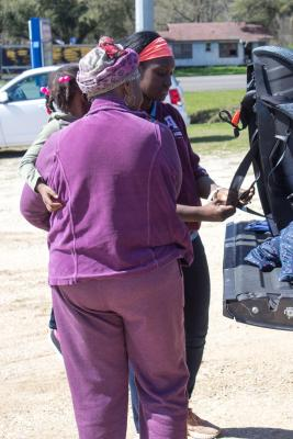 The Texas A&M AgriLife Extension Service Passenger Safety Project held a Free Car Seat CheckUp event in Falls County on Feb. 25