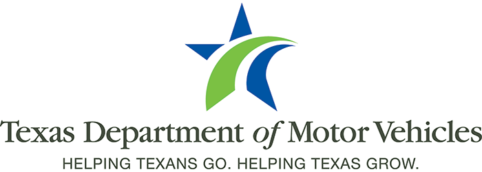 Logo: Texas Department of Motor Vehicles
