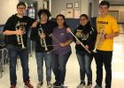 The RL Cougar Band has five members who have advanced to the State Level Solo & Ensemble. Solo members are Kaitlyn Alonso, Aliyah Walker, and Hunter Rogers. Hunter also advanced in Ensemble along with Dillon O'Brien and Mario (Tre) Watson.