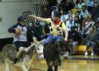 Players enjoy the annual Donkey Basketball game at Rosebud-Lott I.S.D.