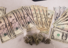 Falls County deputies recovered $600 in cash and some marijuana during the execution of an search warrant on Jan. 31.