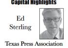 Ed Sterling, Capitol Highlights, Texas Press Association